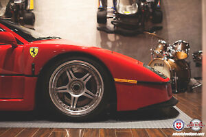 Ferrari F40 Wheels Hre 547 Wheels Custom Forged Wheels Centerlock