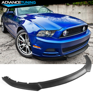 Fits 13 14 Ford Mustang Ikon Style Front Bumper Lip Spoiler Pp