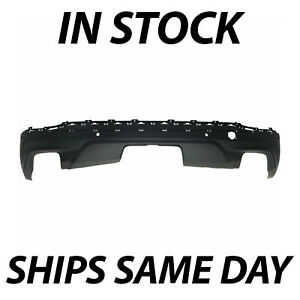 New Textured Rear Lower Bumper Cover For 2018 2021 Chevy Equinox W Park 18 21