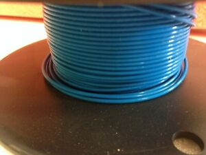 110 Blue Mil spec M22759 43 16 6 Silver Plated Wire 16 Awg 5