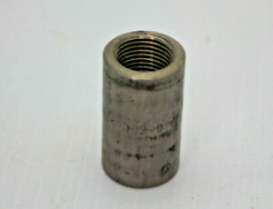 Tico Titanium 3 8 Titanium Pipe Coupling Threaded New