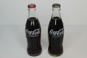 Two Vintage unopened Schutzmarken Germany Coca Cola Coke 0.2L Glass Bottles