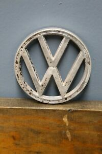 Vintage Vw Volkswagen Bug Beetle Logo Emblem Oem 113 853 601 B Old 3 Pins Badge