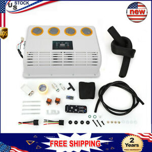 12v 360 Rotating Air Conditioning Evaporator Assembly Automotive Bus Truck A C