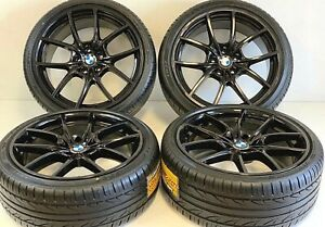 20 Bmw Rims Tires Original5 F10 F11 6 F06 F12 F13 356 Oem Black M5 M6 Staggered