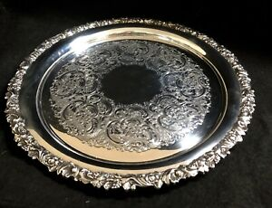 14 Gorham Silver Plate Serving Tray Ep Y01451