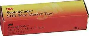 3m Sdr plus Wire Marker Tape Refill Roll pk50