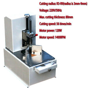 220v Electic Round Corner Cutter Corner Rounding Machine For Name Cards Paper