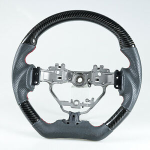 Flat Sport Steering Wheel Carbon Learther For Lexus Is Ct Nx Is200 Ct200h Nx200