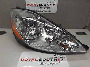 Toyota Sienna 2006 2010 Right And Left Front Headlight Lamp Genuine Oem Oe