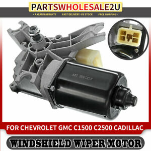 Front Windshield Wiper Motor For Chevrolet C1500 Pickup Cadillac 1991 2003 40158