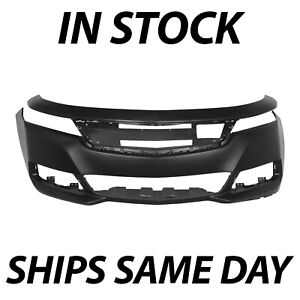 New Primered Front Bumper Cover Fascia Replacement For 2014 2020 Chevy Impala