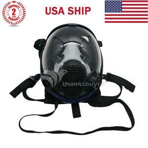 7pcs set Full Face Gas Mask Respirator For Painting Spraying Weld Manufacture Us