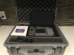 Anritsu Site Master S331a Cable Antenna Analyzer Sitemaster With A Hard Case