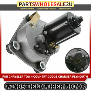 Windshield Wiper Motor Front For Chrysler Town country Dodge Challenger 72 79