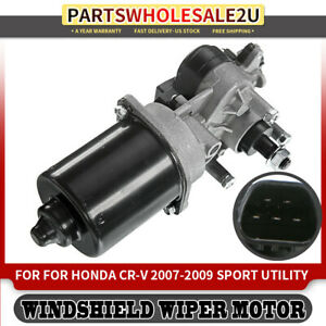 Windshield Wiper Motor Front 43 4047 For Honda Cr v 2007 2008 2009 76505 swa a01