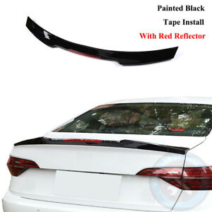 Blade Style With Reflector Rear Trunk Lip Spoiler Fit For Vw Jetta Mk7 19 21