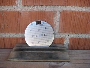 Vintage 3 1 4 Diameter Silicon Wafer Early Computer Chip Technology Usa