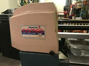 American Cameo 18 Automatic Screen Printing Machine With Vacuum Table