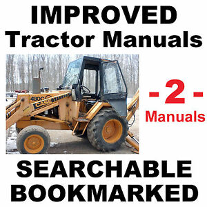 Case 480c Tractor Service Manual Parts Catalog 2 Manuals Improved Best Cd