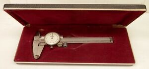 Vintage Mitutoyo 505 629 Dial Caliper Up To 4 Long 001 Accuracy W box