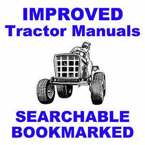 Allis Chalmers Ac 7060 7080 Tractor Shop Service Manual Searchable Indexed Cd
