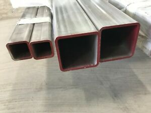 304 Stainless Steel Square Tube 1 1 4 x 1 1 4 x 36 120 Wall