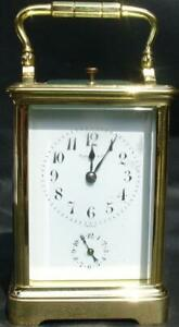 Charles Hour Paris For Tiffany Co Grand Sonnerie Repeater 8 Day Carriage Clock