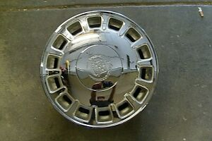 1996 1999 Cadillac Deville Chrome 16 X 7 14 Slot Factory Alloy Wheel used