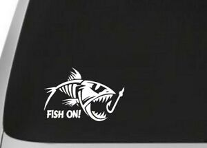Fish On Fishing Decal Vinyl Sticker