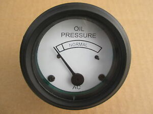 Oil Pressure Gauge For Allis Chalmers B C Ca G Industrial Ib Rc U Uc Wc Wd Wd45