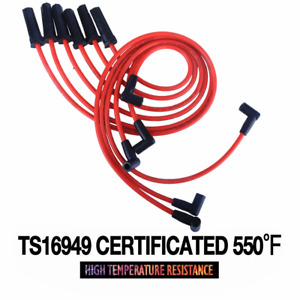 Ignition Cable Spark Plug Wire Set Leads For Chevrolet Gmc Savana1996 2007 4 3l