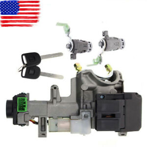 Ignition Switch Cylinder Door Lock For Honda Crv 72185 s9a 01 Key