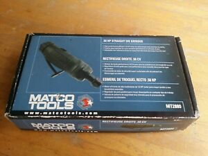 Matco Tools Mt2880 1 2 Hp Straight 1 4 Air Pneumatic Die Grinder New