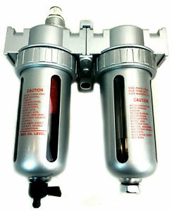 3 8 Compressed Air Coalescing Filter Desiccant Dryer With Mounting Bracket