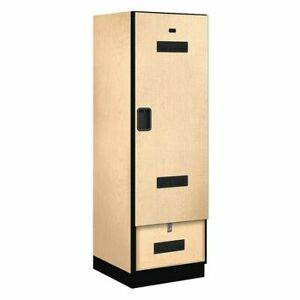 Salsbury Industries 30074map Gear Locker 24wx76hx24 d maple