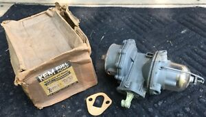 Vintage Nos Dual Action Automotive Hot Rod Rat Fuel Pump Ford Replacment