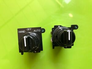 Eaton Cutler hammer 10250t 91000t Black Selector Switches T4810 Lot Of 2 Used