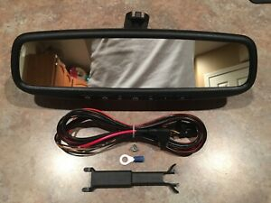 2016 2019 Toyota Tacoma Homelink Auto Dimming Inside Rearview Mirror Kit 17 18