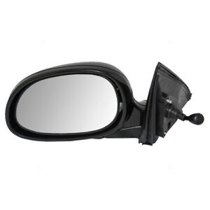 Fits Honda Civic 92 95 Drivers Side View Manual Remote Mirror Glass Housing