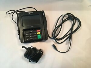Ingenico Isc250 Credit Card Reader Terminal W Chip Reader And Signature Pad