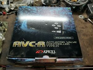 New Apexi Avc R Electronic Boost Controller