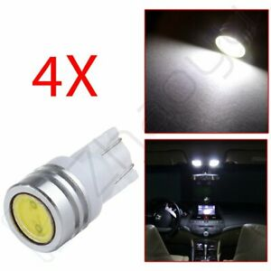 White Lamp 1w T10 194 579 168 W5w High Power Led Bulb For License Plate Light 4x