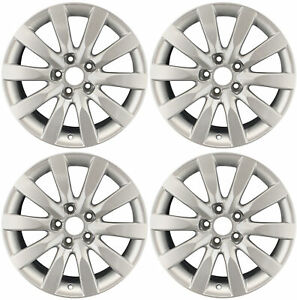Set Of 4 Recon D 17 Oem Alloy Wheels Rims For 2009 2015 Audi A4