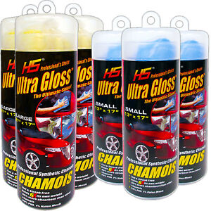Hs Chamois Synthetic Professional Ultra Gloss 3 pack