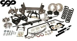 1948 52 Ford F 1 F1 Mustang Ii 2 Complete Front Ifs Conversion Kit Stock Spindle