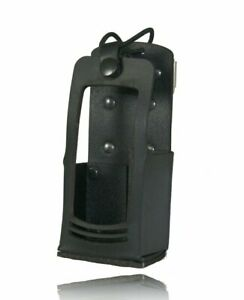 Boston Leather Radio Holder For Firefighters