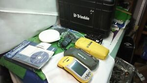 Trimble Geoxt 2005 Series Pn60950 20 With Manuals Softeware Charger Stylus Case
