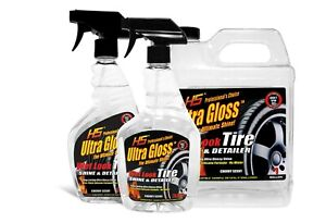 Hs Ultra Gloss Tire Shine And Detailer Spray And Refill