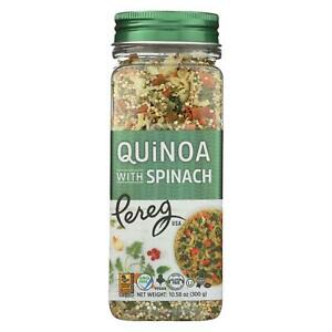 Pereg Quinoa With Spinach Case Of 6 10 58 Oz
